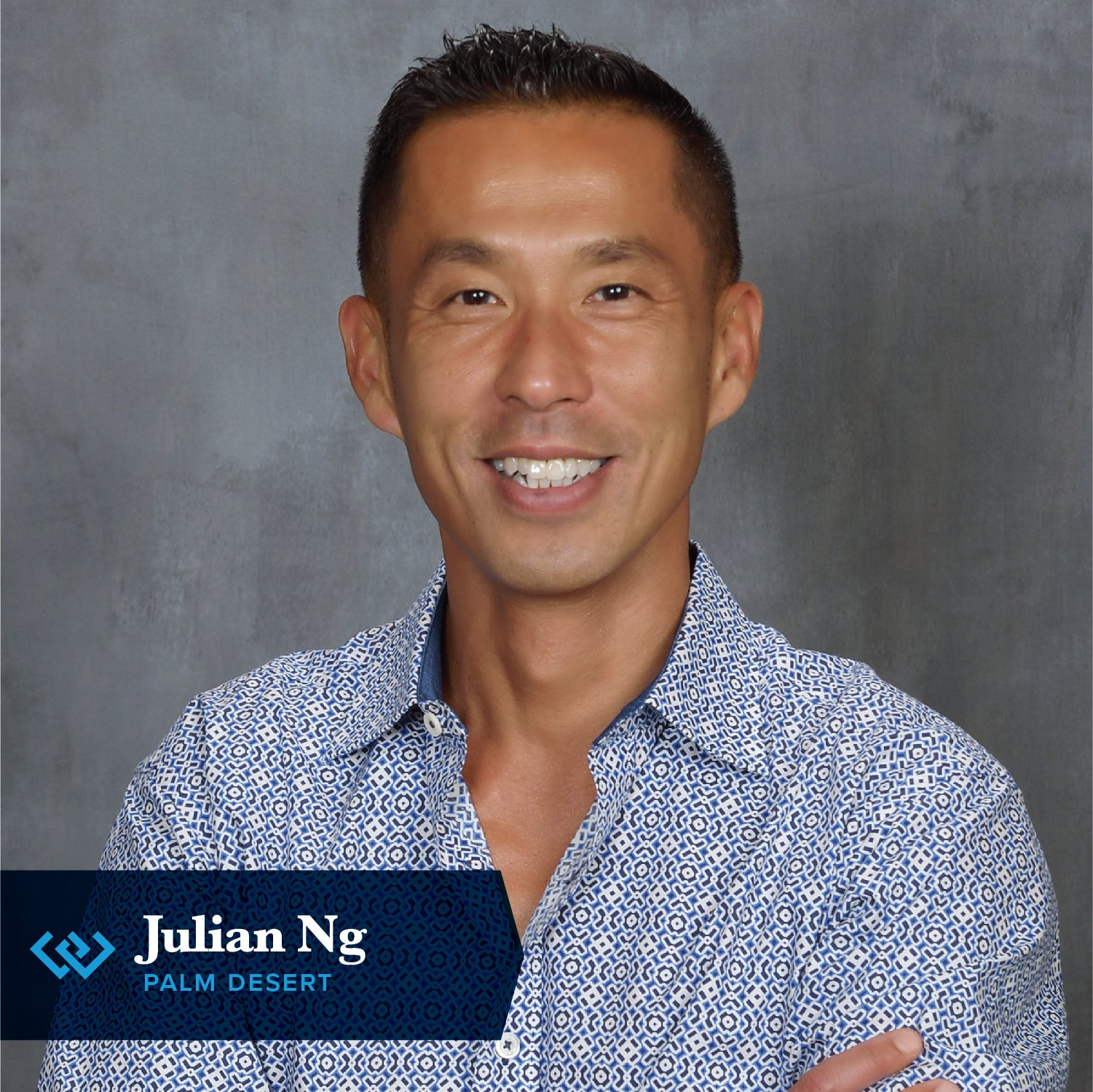 Julian Ng, man smiling